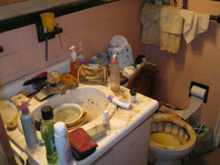 Danger To Health Hoarders Home