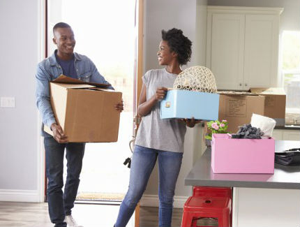 Young African American Couple Moving Into A New Home Istock